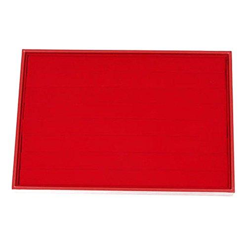 Ardisle Anillo Rojo Pendiente Joyería Display Caja de Almacenamiento