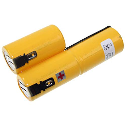 AccuPower Accu3 Batterie de rechange pour Gardena, batterie 3 pour 02500-20 3,6 V 2100 mAh Ni-Cd