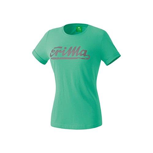 Erima Basics T-Shirt Femme Neptune Green/Gris