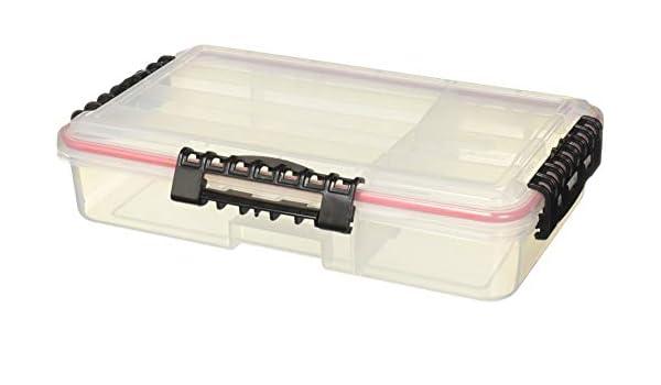 Schwarz 24 Fächer Plastikbox Tacklebox Angelkoffer Fishing Köderbox