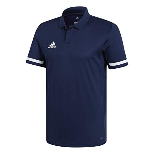 adidas Herren T19 M Polo Shirt Team Navy Blue/White XL