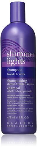 Clairol Silver Shampoo (Clairol Shimmer Lights 16oz. Shampoo (Blonde&Silver) by Clairol)