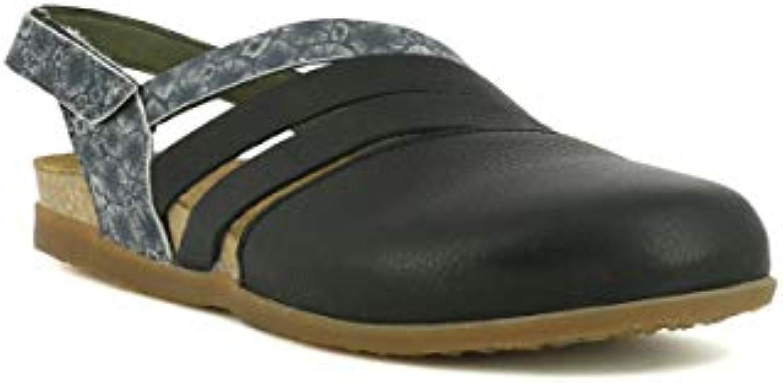El Naturalista NF45 Fantasy Leather nero Coral Zumaia Motivi Donna 36 Sandali Velcro | Louis, in dettaglio  | Gentiluomo/Signora Scarpa