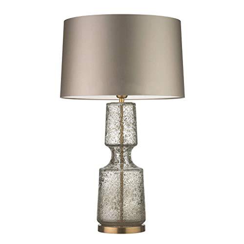 Nachttischlampen Postmodernes Licht Glas Nachttischlampe Amerikanische Einfache Couchtisch Leselampe Schlafzimmer Wohnzimmer Studie Schreibtischlampe Langlebig Nachttischlampen -