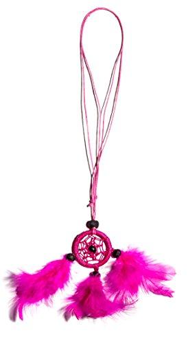 Dreamcatcher Kette Traumfänger Auto Lkw Spiegel Pink