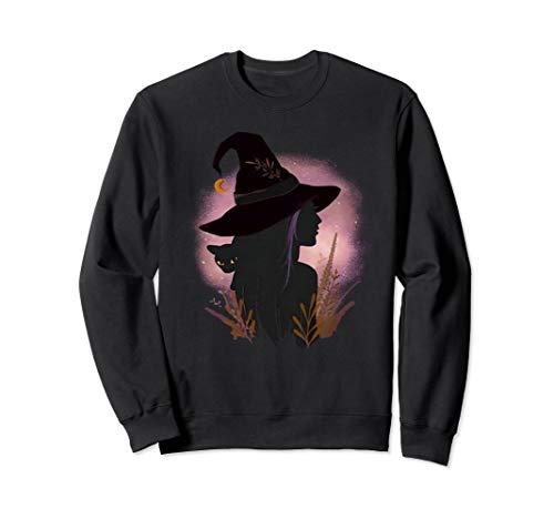 Annahme Kostüm Cat - Schwarze Katzen-Hexe-Halloween-Geschenk Sweatshirt