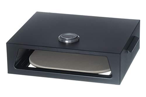 Mustang Pizzaofen Box Aufsatz für Gas Grills und Holzkohle Grills | Cordierit-Keramik - Grill Aufsatz Pizzaofen Für