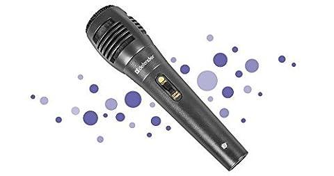 Defender Karaoke Mikrofon MIC-129 Schwarz Kabel 5m