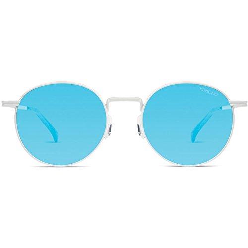Komono Damen Sonnenbrille TAYLOR , Größe:ONESIZE, Farbe:weiß, Farben:RACER WHITE