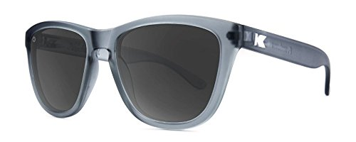 Sonnenbrillen Knockaround Premium Frosted Grey / Smoke polarisierten