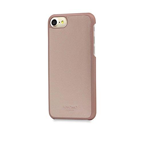 Knomo 14-213-AUR Snap on Schutzhülle für Apple iPhone 7 rosegold Rosa