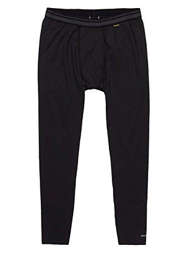 Burton Herren Lightweight Pants Thermo Unterhose, True Black, L (Layer Lightweight Unterwäsche Base)