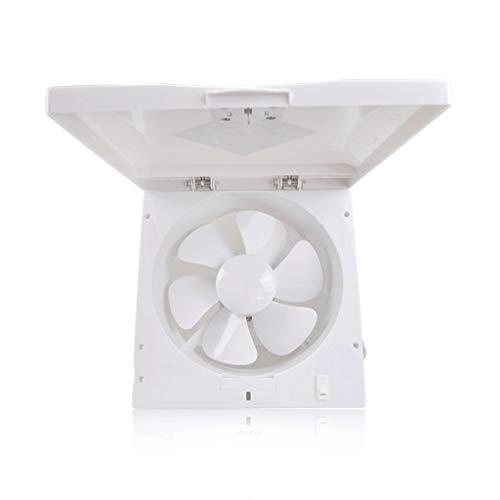 QIQIDEDIAN Abluftventilator 10-Zoll-Flip-Fenster Typ Lüftungsventilator Küche wasserdichte Haube Leistungsstarker Abluftventilator - Abluftventilator Küche