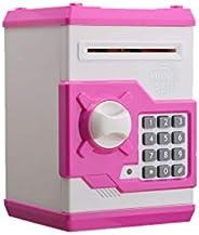 Toyvian Cartoon Electronic Money Bank Password Piggy Bank Cash Coin Can Music Locker Auto Insert Bill Safe Box