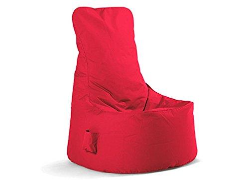 Sitting Bull - Chill Seat - Sitzsack - rot L 85 x B 75 x H 100 cm