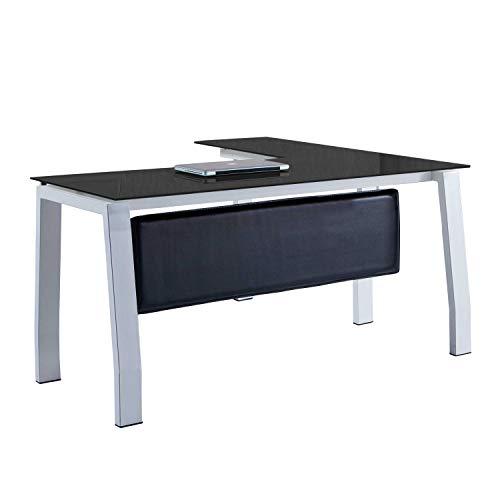 Mesa despacho 150 cm modelo BLAKE estructura metálica