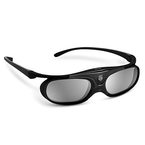 Boblov active shutter 3d occhiali dlp-link usb per benq w1070 w700 dell projector