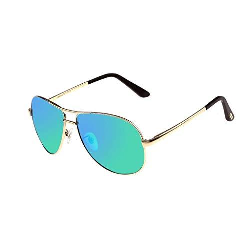 SUNGLASSES Polarisierte Sonnenbrille für Männer, Strahlenschutz Anti-UV-Augenschutz Shades Wayfarer Polarisierte Sonnenbrille Man (Color : D)