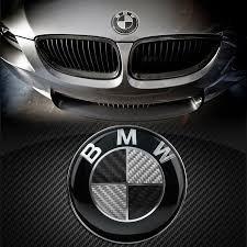 Ersatz Carbon Emblem 82 mm auf der Fronthaube Aufkleber Plakette Logo
