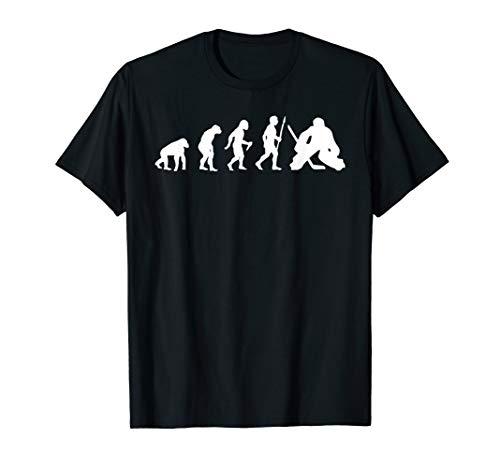 Eishockey Evolution Geschenk Eishockeyspieler Hockey T-Shirt