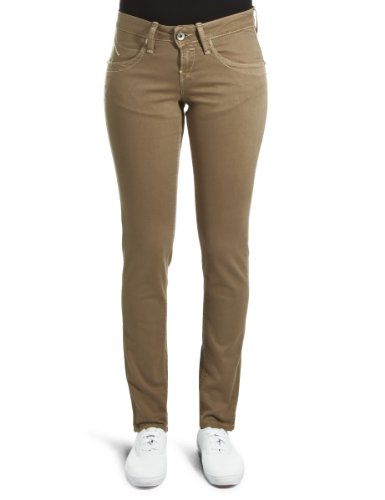 Fornarina - Jeans, Donna, Verde (Grün (Kaki)), 40 IT (26W)