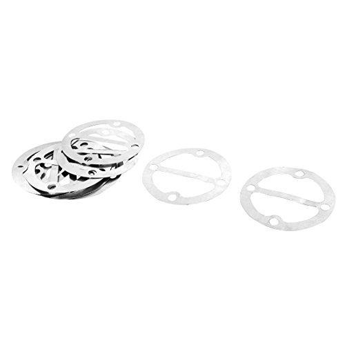 DealMux Aluminium Rundluftkompressor Zylinderkopfdichtungen Bodenplatte Unterlegscheiben 11 Pcs