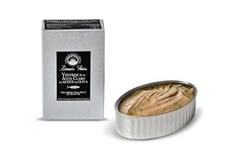 RAMON PEÑA - ventresca di tonno pinna gialla ' yellowfin' in olio d'oliva OL120 confezione 3 unità