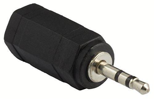mumbi STEREO Audio Musik Adapter 2,5mm Klinke Stecker auf 3,5mm Klinke Buchse Stecker Audio Adapter