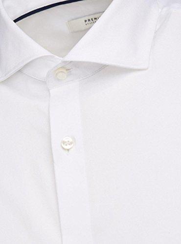 JACK & JONES Herren Freizeit-Hemd Weiß