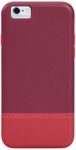 Port pour iPhone 6–Rouge foncé