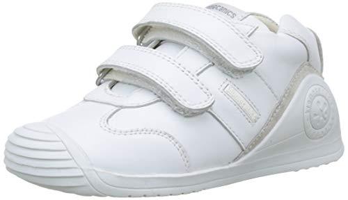 Biomecanics 151157, Zapatos de primeros pasos Unisex Bebés, Blanco Sauvage, 18 EU