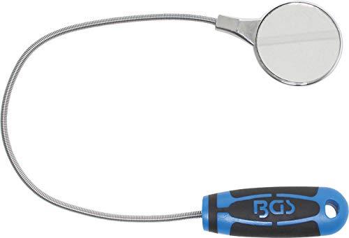 BGS 3081   Inspektionsspiegel   Ø 55 mm   flexibel   Länge 475 mm