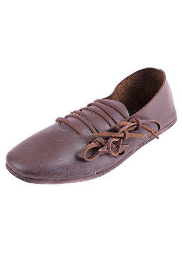Ulfberth Schnürschuh, Spätmittelalter Schuhgröße 39