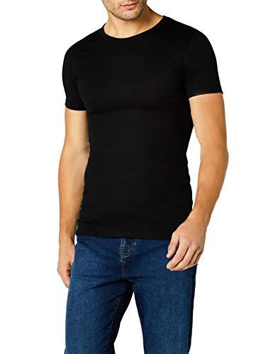 Trigema Herren T-Shirt, Schwarz, XXL, 602201_008