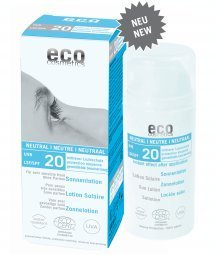 eco cosmetics Sonnenlotion LSF 20 neutral, 100 g -