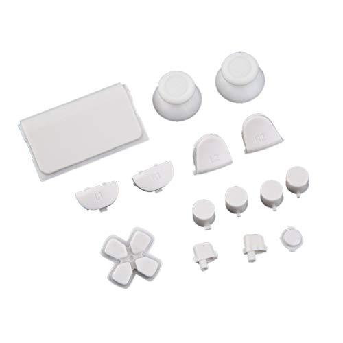 Preisvergleich Produktbild Spiel-Gadget,  Professionelle Gamepad Controller Tasten Durable Ersatz Tasten Für Sony Für PS4 Videospielkonsole Zubehör