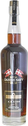 A.H. Riise Royal Danish Navy Rum 40% 0,7 l -