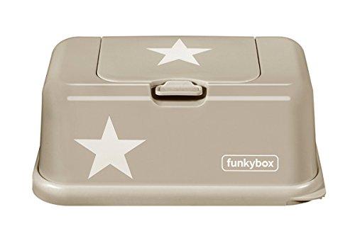 Funkybox Feuchttücher Box Beige / Stern