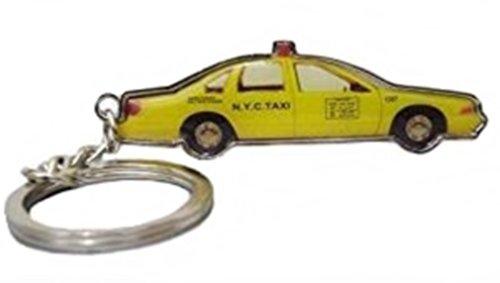 Porte-clé Métal Double face Taxi Cab US New-Yorkais NY - New-York - USA