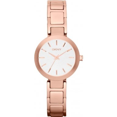 DKNY (DNKY5) Women's Quartz Watch with Rose Gold Dial Analogue Display and Rose Gold Stainless Steel Bracelet NY2400