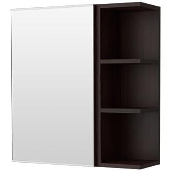 Ikea lill ngen spiegelschrank mit einer t r und einem for Amazon spiegelschrank