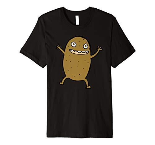 Einfach Halloween Kartoffel Kostüm Kartoffel T Shirt