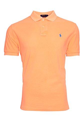 Ralph Lauren Herren Polo Shirt - Verschiedene Farben - Classic / Custom Fit Neon Orange