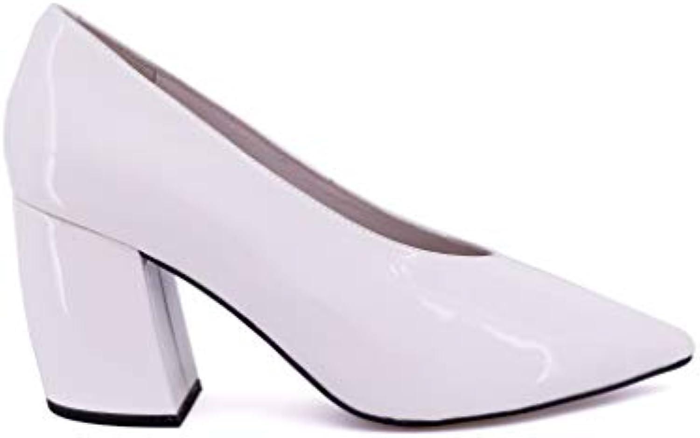 Jeffrey Campbell Blanc , Escarpins pour Femme Blanc Campbell Bianco d13f5a c9ae4764f496