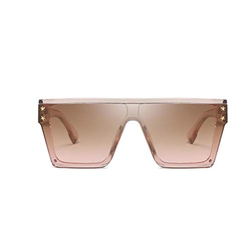 Yncc Herren Und Damen Unisex Brille Überbrille Mode polarisierten Sonnenbrillen Outdoor-Reitbrille Sport-Sonnenbrille Big Frame Sonnenbrille Eyewear Retro Brille Adult Anti-UV (D)