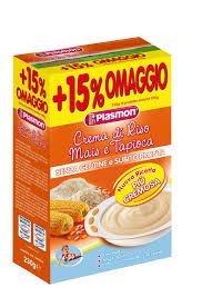 Plasmon Cereal Cream Sweet Corn and Tapioca