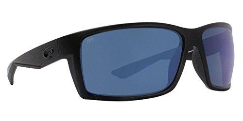 Costa Reefton Plastic Frame Blue Mirror Lens Unisex Sunglasses RFT01OBMP