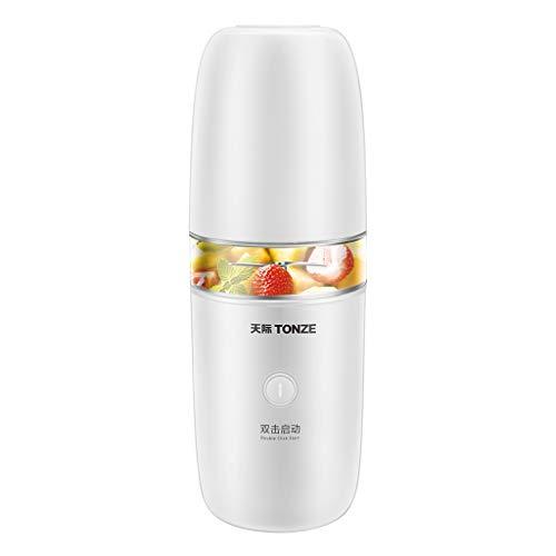 CUI XIA UK Juicer Cómodo Vaso exprimidor con Cable de Carga USB para Alimentos Combinados, máquina de cocción, Mini batidora de Jugo, licuadora Uso Personal