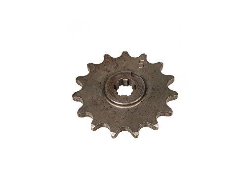 FEZ Ritzel, kleines Kettenrad, 15 Zahn - für Simson S50, KR51/1 Schwalbe, SR4-2 Star, SR4-3 Sperber, SR4-4 Habicht