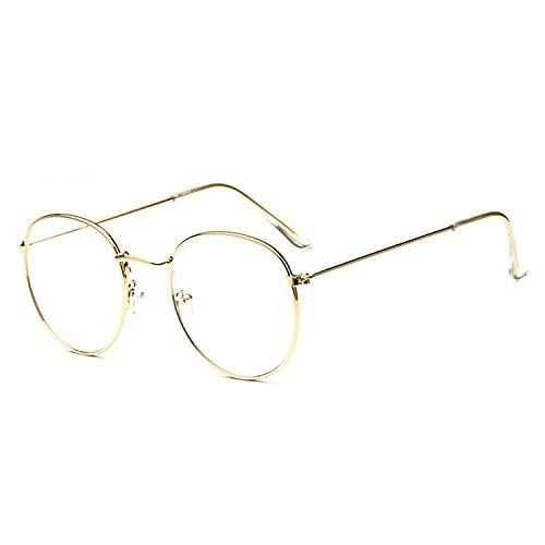 Nerd Fashion Brille Lesebrille ohne Stärke für Damen und Herren von Proco | Unisex Transparente...